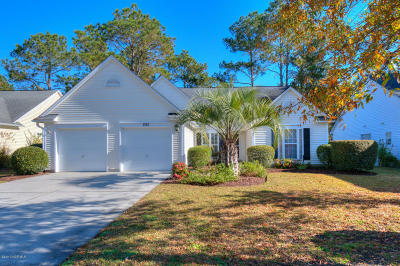 Sunset Beach Single Family Home For Sale: 892 Sandpiper Bay Drive SW