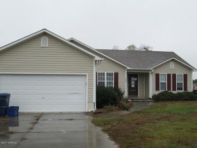 Richlands Single Family Home Active Contingent: 200 Silky Court