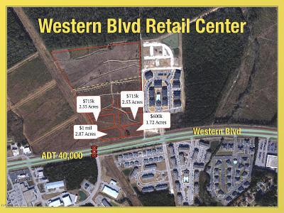 Jacksonville Residential Lots & Land For Sale: 0001 Western Boulevard Ext