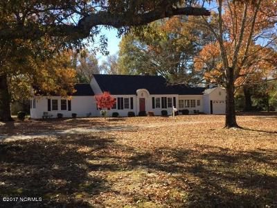 Farmville Single Family Home For Sale: 3387 E Wilson Street