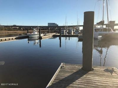 Wilmington Boat Slip For Sale: 1701 Jel Wade Drive #8