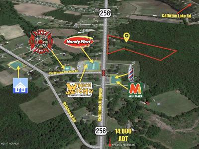 Jacksonville Residential Lots & Land For Sale: 5463 Richlands Highway
