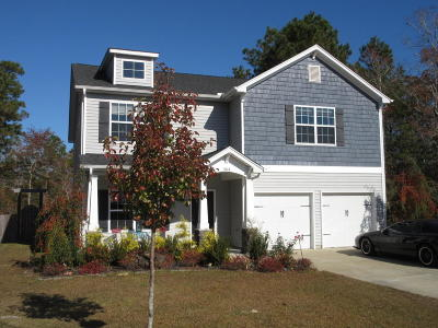 Swansboro Single Family Home For Sale: 504 Sea Grass Court