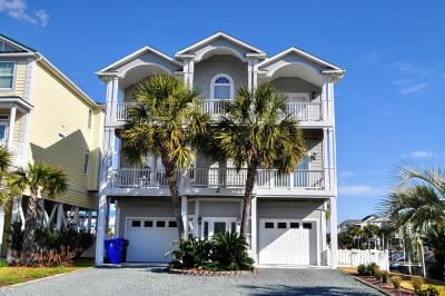 Ocean Isle Beach Single Family Home For Sale: 2 Cumberland Street