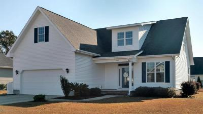 Morehead City Single Family Home For Sale: 1106 Woods Court