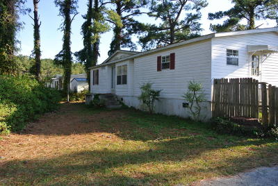 Beaufort Manufactured Home For Sale: 206 Piver Road