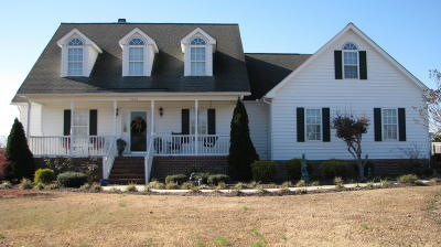 Rocky Mount Single Family Home For Sale: 1592 Fountain Branch Road