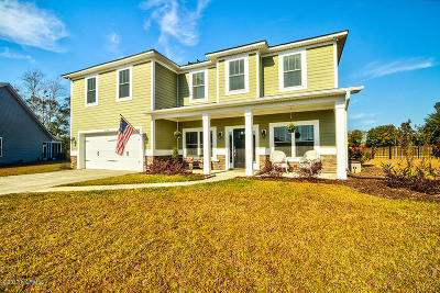Calabash Single Family Home For Sale: 2148 Stonecrest Drive NW