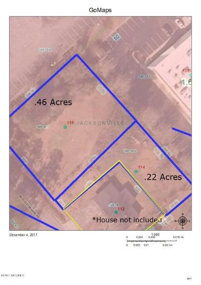 Jacksonville Residential Lots & Land For Sale: 114 & 116 Moosehaven Road