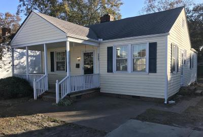 Morehead City Single Family Home For Sale: 2007 Bridges Street