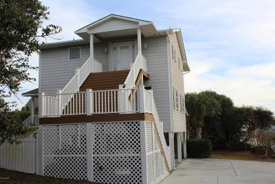 Emerald Isle Single Family Home For Sale: 106 W Landing Drive