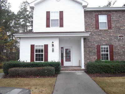 Brunswick Plantation Condo/Townhouse For Sale: 8855 Radcliff Drive NW #12 A