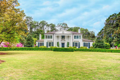 Wilmington Single Family Home For Sale: 1938 S Live Oak Parkway