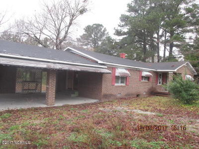 Havelock Single Family Home For Sale: 855 Blades Road