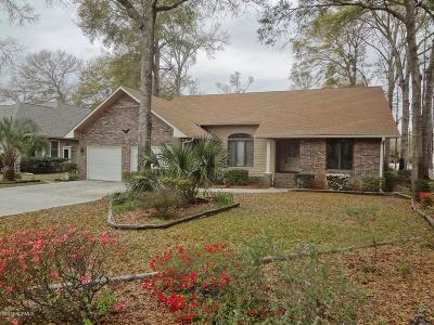 Sunset Beach Single Family Home For Sale: 464 Egret Drive