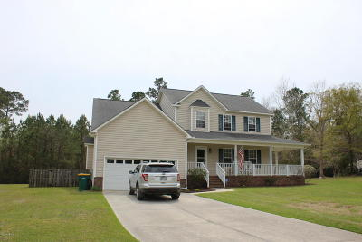 Swansboro Single Family Home For Sale: 126 River Reach Drive W