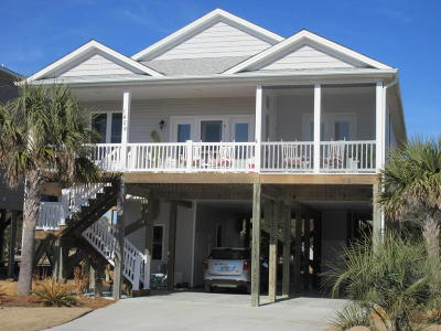 Oak Island NC Single Family Home For Sale: $475,000