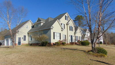 Rocky Mount Single Family Home For Sale: 4164 Meadowview Lane