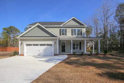 Jacksonville Single Family Home For Sale: 514 Carriage Lane