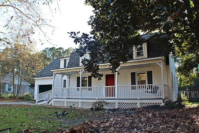 Wilmington Single Family Home For Sale: 1524 Middle Sound Loop Road