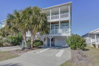 Carolina Beach, Kure Beach Condo/Townhouse For Sale: 106 Dow Avenue #A