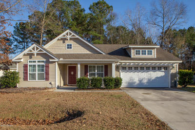 Jacksonville Single Family Home Active Contingent: 503 Blue Angel Court