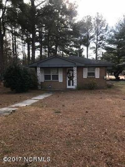 Edgecombe County Single Family Home For Sale: 1701 Cherry Street