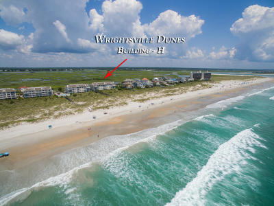 Wrightsville Beach Condo/Townhouse For Sale: 2514 N Lumina Avenue #1-D