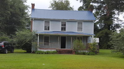 New Bern Single Family Home For Sale: 6125 County Line Road