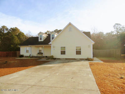 Richlands Single Family Home Active Contingent: 110 Linden Road