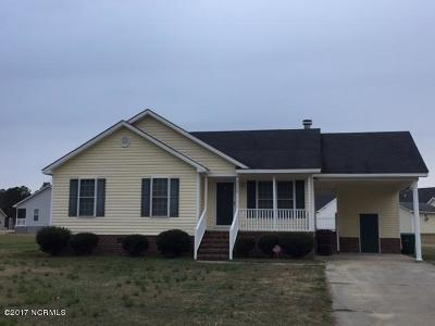 Tarboro Single Family Home For Sale: 2202 Samuel Lane
