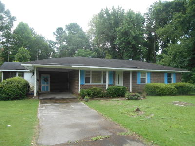 Tarboro Single Family Home For Sale: 4814 Nc Highway 97