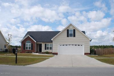 Onslow County Single Family Home For Sale: 257 Silver Hills Drive