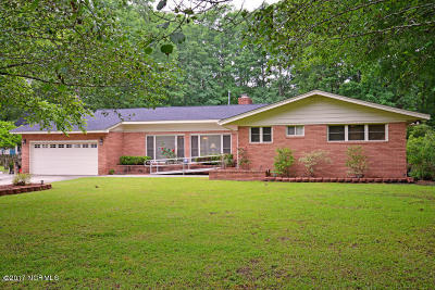 Edgecombe County Single Family Home For Sale: 608 Lucille Drive
