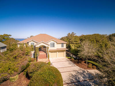 Pine Knoll Shores Single Family Home For Sale: 544 Fiddlers Ridge