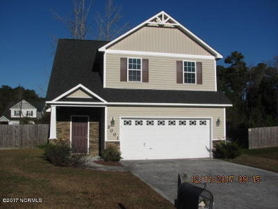Jacksonville Single Family Home For Sale: 2001 Wt Whitehead Drive