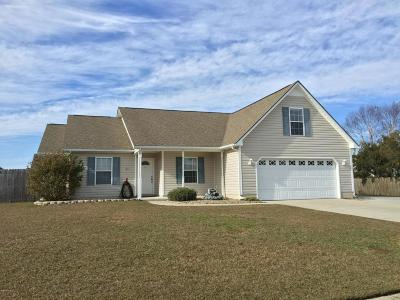 Havelock Single Family Home For Sale: 913 Gum Branch Court