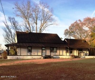 Beulaville Single Family Home For Sale: 255 Sandlin Road