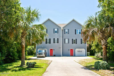 Emerald Isle Condo/Townhouse For Sale: 5207 Emerald Drive #W