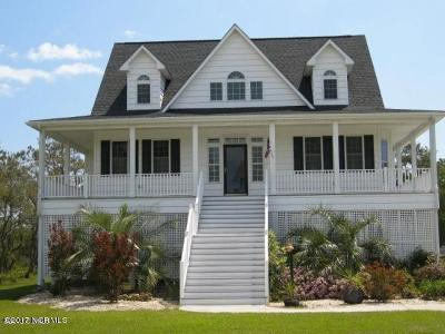 Harkers Island Single Family Home For Sale: 211 Pintail Lane