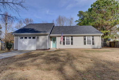 Jacksonville Single Family Home For Sale: 122 Silverleaf Drive