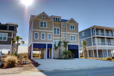 Holden Beach Single Family Home For Sale: 289 Ocean Boulevard W