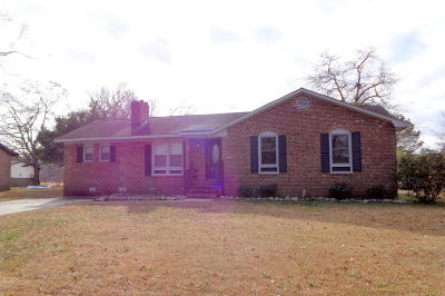 Greenville Single Family Home For Sale: 2318 Springhill Road