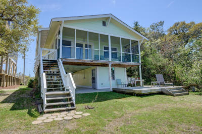 Topsail Beach Single Family Home For Sale: 458-C N Anderson