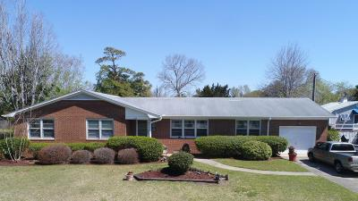 Carolina Beach, Kure Beach Single Family Home For Sale: 414 Charlotte Avenue