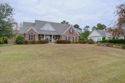 Wilmington Single Family Home For Sale: 209 Marsh Oaks Drive