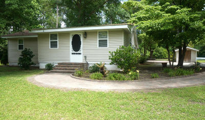Swansboro Single Family Home For Sale: 150 Boat Landing Drive