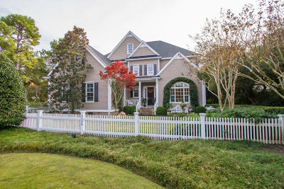 Wilmington Single Family Home For Sale: 2126 Deer Island Lane