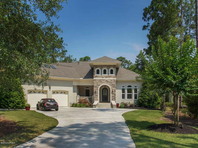 Southport Single Family Home For Sale: 3871 Hearndon Lane