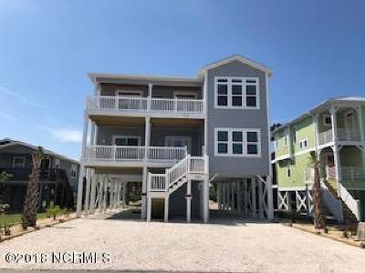 Holden Beach Single Family Home For Sale: 259 Brunswick Avenue W